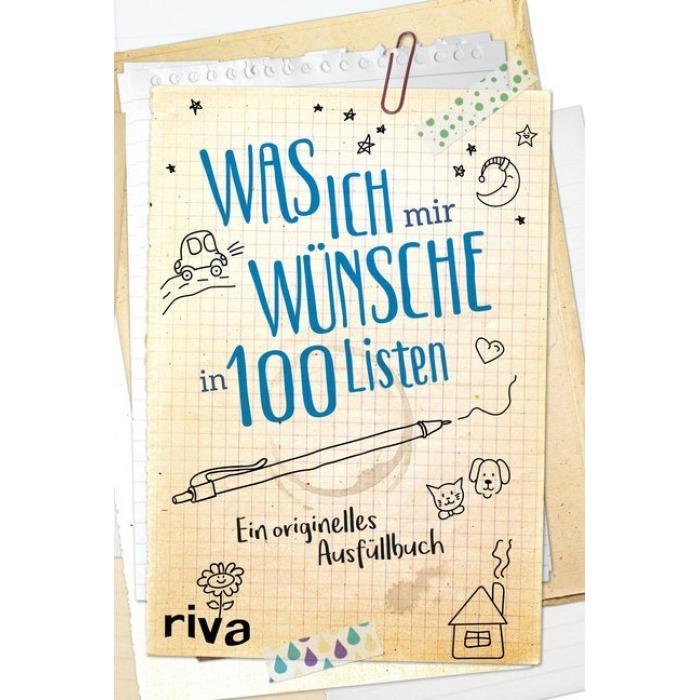 Wünsche in listen mir 100 was ich Verlosung: Ausfüllbuch