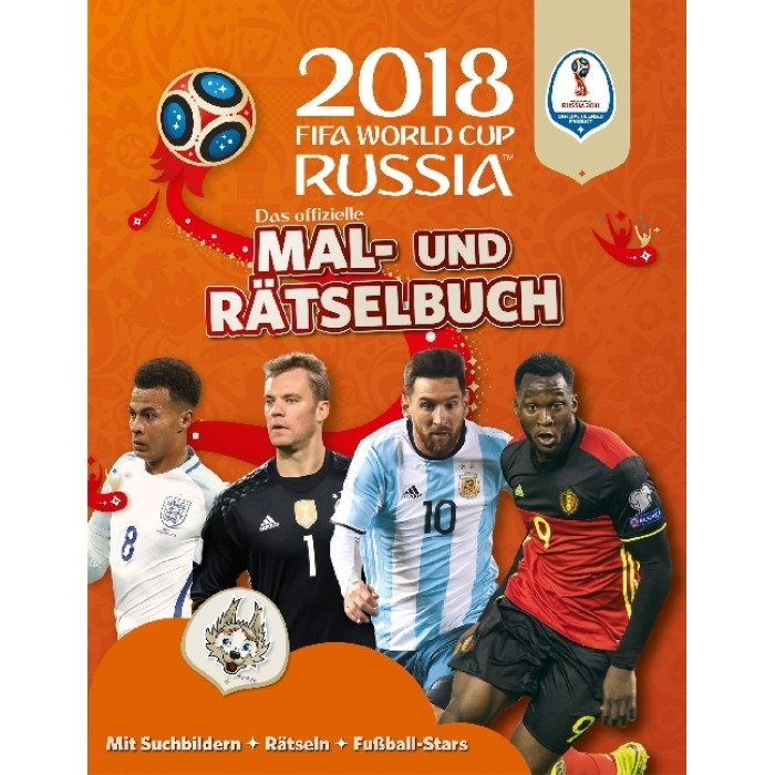 Das Offizielle Fifa Fussball Weltmeisterschaft Russland 2018 Mal Und Ratselbuch